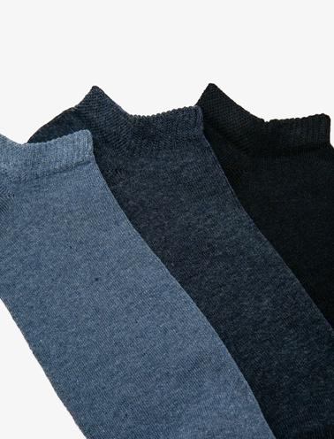Koton 3'lü Erkek Çorap Mavi